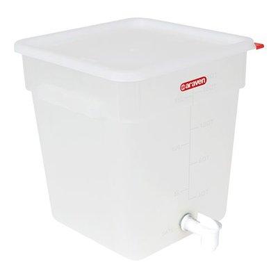 Drankencontainer - kunststof - 18 liter - met aftapkraan