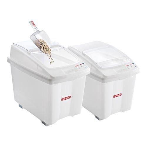 Araven Voorraadcontainer - met wielen - 80 liter