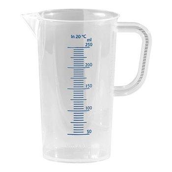 Maatbeker kunststof - 0,25 liter