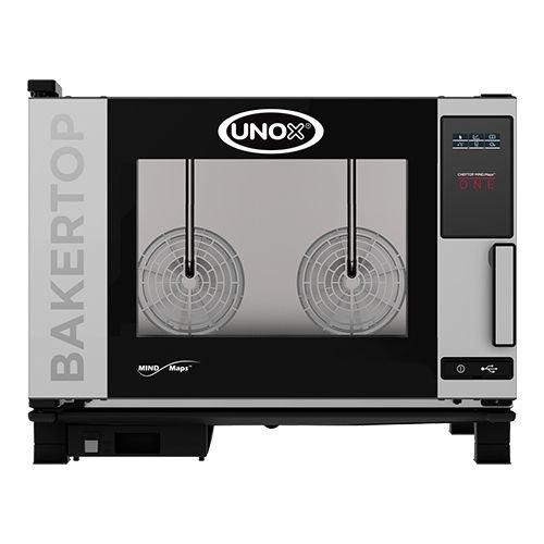 Unox Bake-off oven - XEBC-04EU-E1L- BakerTop MindMaps ONE - 4x 60x40cm - Greep LINKS