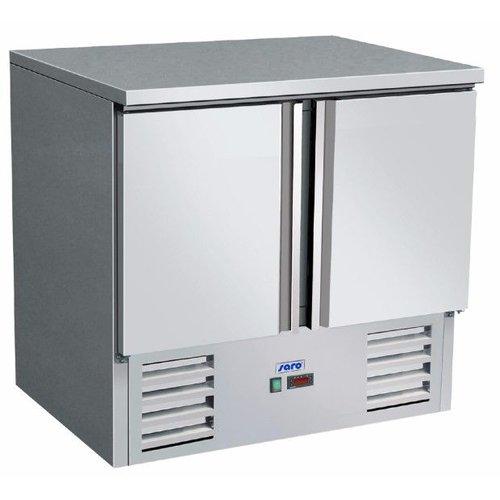 Saro Gekoelde werkbank | Vivia S 901 s/s Top - 2 deurs | (H)88,5x(B)90x(D)70