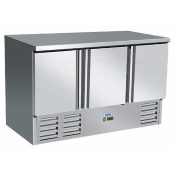 Gekoelde werkbank | Vivia S903 s/s Top | 3 deurs | (H)88,5x(B)136,5x(D)70