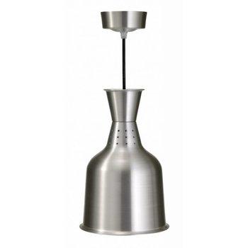 Warmhoudlamp aluminium - Lucy