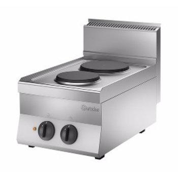 Elektrische kooktoestel Bartscher 650 snack - 2 platen