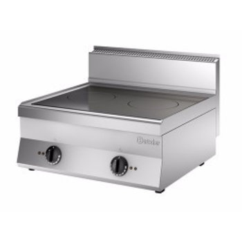 Inductie kooktoestel Bartscher 650 snack - 2 zones