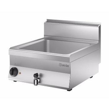 Elektrische bain marie Bartscher 650 snack - 1/1 + 2/4GN - 150mm diep