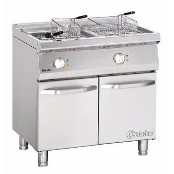 Elektrische friteuse Bartscher 700 classic - 2x 15L - 80x70cm