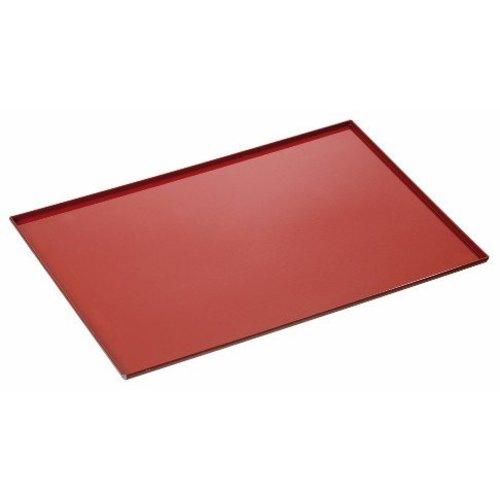 Bartscher Bakblik met siliconencoating en 4 zijranden - 433x333mm