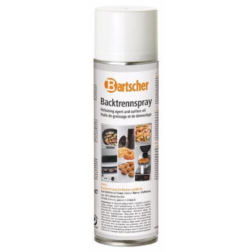 Bartscher Antiaanbakspray - voor bakvormen en platen - 6 bussen