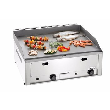 Gas grillplaat GDP 650G | breed | glad | aardgas | 8kW | (H)31x(B)66x(D)60