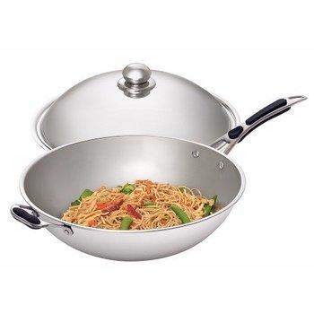 Wokpan voor inductie wok IW 35
