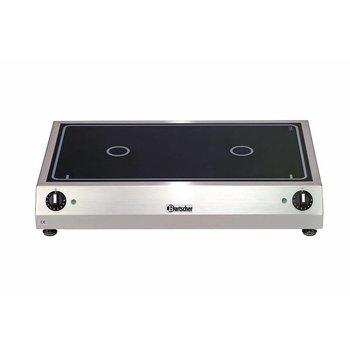 Keramisch kooktoestel - 2x Ø230mm - naast elkaar