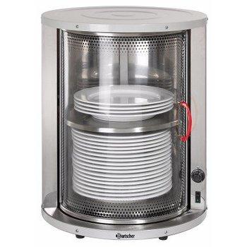 Bordenwarmer - glazen draaideur - 40 borden