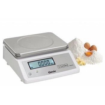 Keukenweegschaal Bartscher - 15kg - per 5g