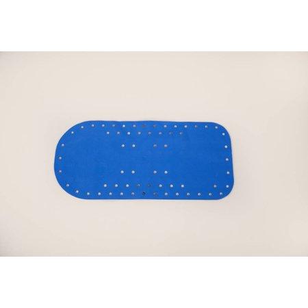 Able2 Badmat Anti-Slip Blauw 75 x 35 cm