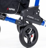 Topro Topro Odysse Rollator - Dubbel Opvouwbare Rollator