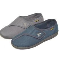 Pantoffels Arthur Blauw - Senioren Pantoffel