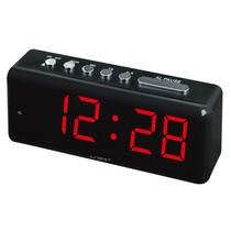 Wekker Met Rode  Grote Cijfers - LED Display