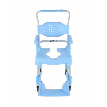 Moem Verrijdbare Douchestoel - Toiletstoel Basic