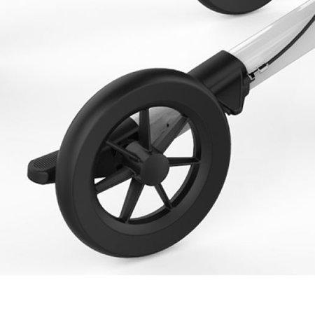 Rehasense Rehasense Carbon Rollator SF Met Brede Comfort Banden