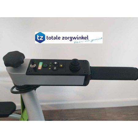 Zinger / Joyrider Achterloop set / Duwondersteuning Joyrider Opvouwbare Elektrische Rolstoel