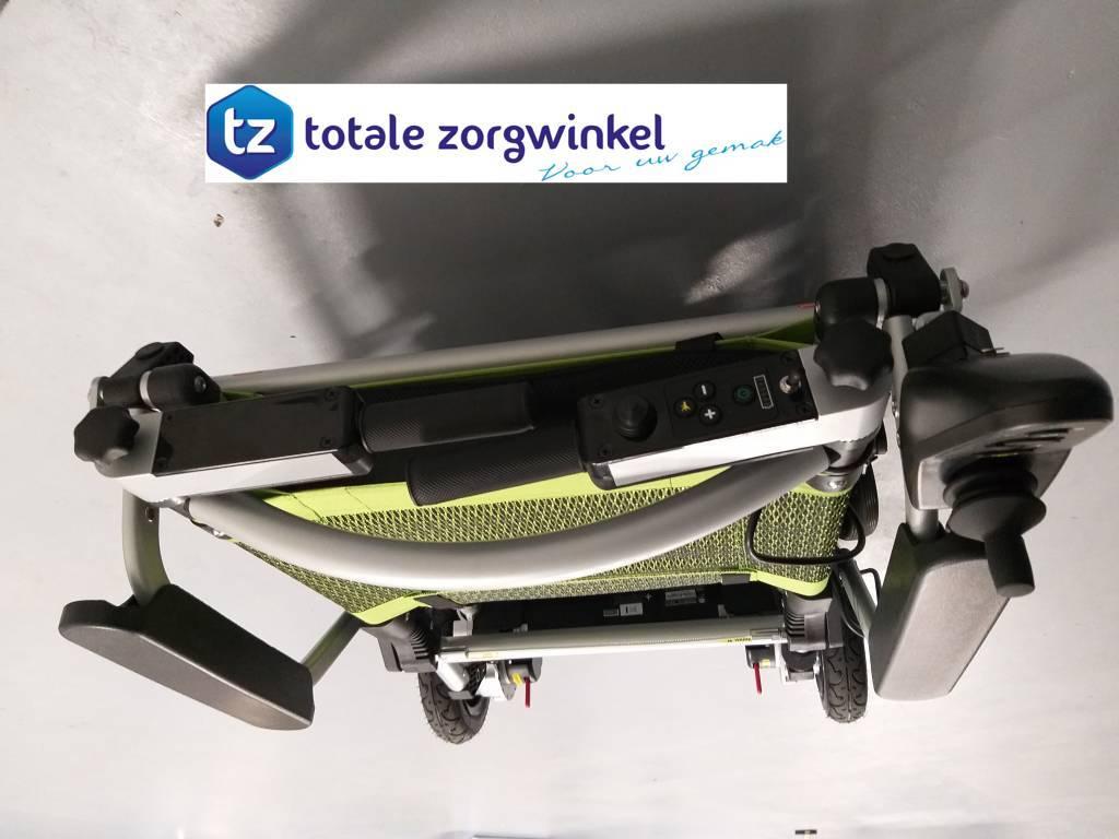 ZInger Joyrider elektrische opvouwbare rolstoel met duw beugels