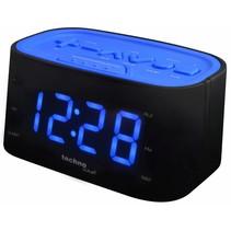 Wekkerradio Met Grote Cijfers - Blauwe LED