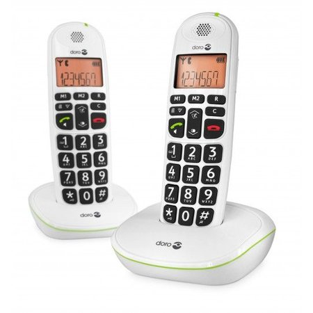 Doro Doro 100W Seniorentelefoon Duo Dect