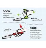 Peta Easy Grip Peta Easy Grip Vleesmes Gehoekt Handvat