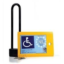 Kaartkluis- Invalideparkeerkaart vergrendeling