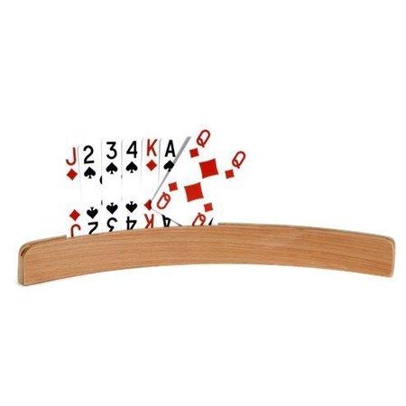Engelhart Speelkaartenhouder hout 35cm