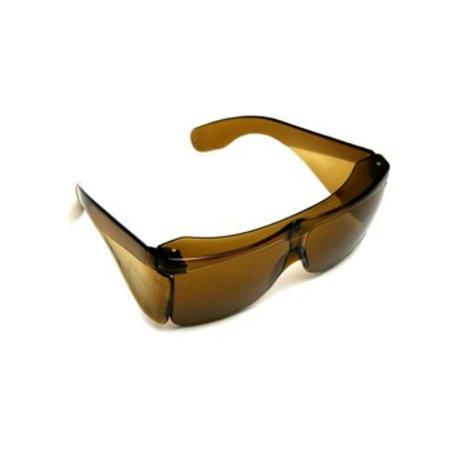 Low Vision design Overzet Zonnebril Groot (kleur amber)
