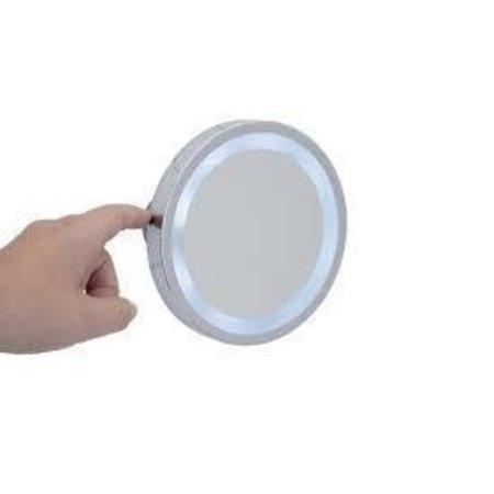Wenko Wenko vergroot spiegel zuignap LED
