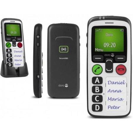 Doro Doro Secure 580 GSM Wit (incl. bureaulader)