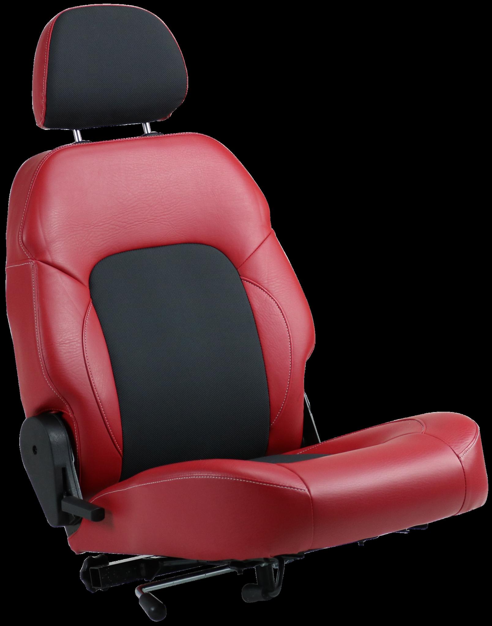 scootmobiel stoel rood