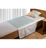 Medlogics TZ Wasbare Bed Onderlegger Met Instopstroken - Incontinentie Bedonderlegger