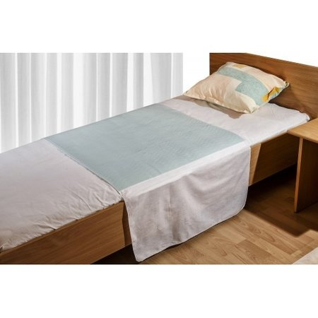 Medlogics Medlogics Wasbare Bed Onderlegger Met Instopstroken - Incontinentie Bedonderlegger