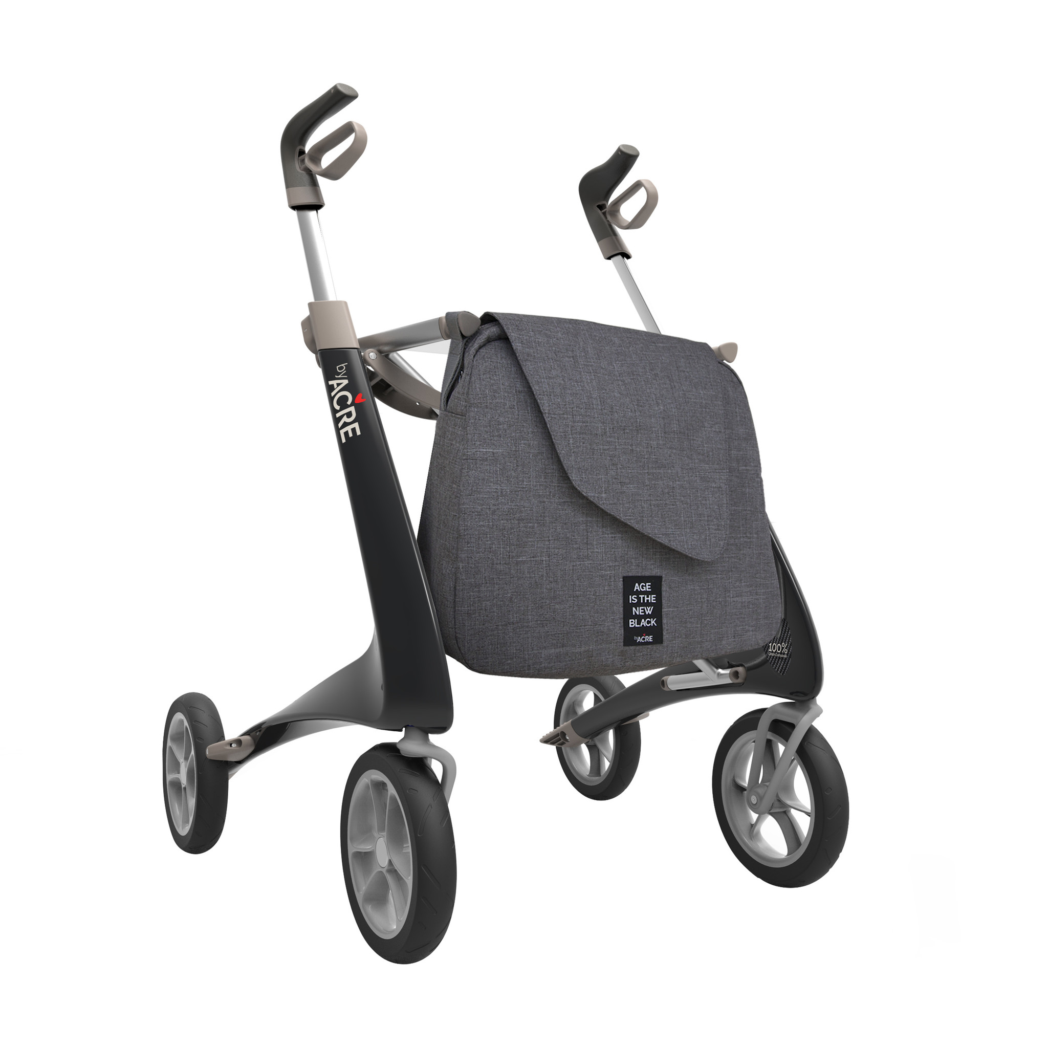 byAcre Carbon rollator