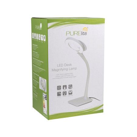PureLite PureLite Bureau Loeplamp Dimbaar
