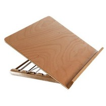 Leesplankje hout / Lees standaard hout