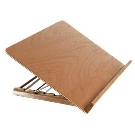 Slechtziend Slechtziend Leesplankje / Lees standaard hout
