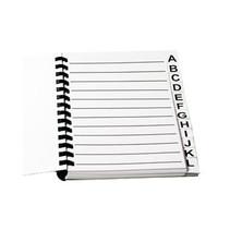 Grootletter Adresboek / Grootletter Telefoonboek A4