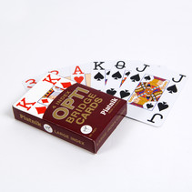 Opti Grootcijfer Speelkaarten Met Grote Opdruk (2 pakjes)