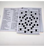 Denksport Denksport Grootletter Kruiswoordpuzzel XL Voor Slechtzienden