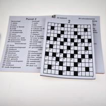 Grootletter Kruiswoordpuzzel XL Voor Slechtzienden