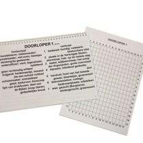 Grootletter Doorloper XL Voor Slechtzienden