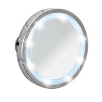 Vergrootglas Spiegel Met Zuignap En LED Verlichting