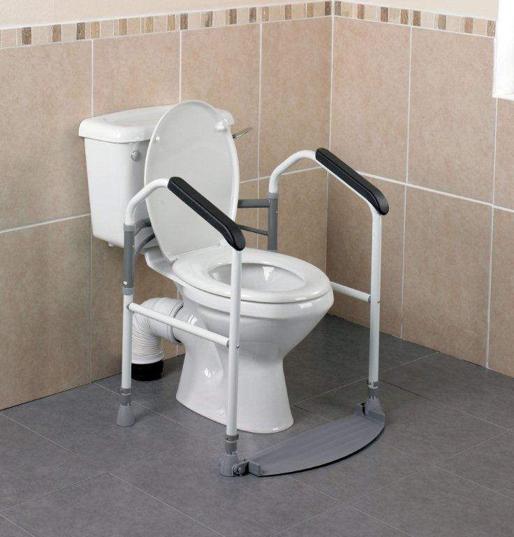 Able2 opvouwbare toiletsteun
