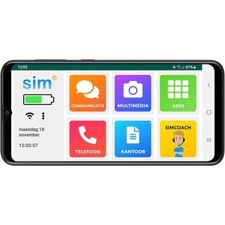 Simpc Simphone 4 - Senioren Smartphone incl Gratis Simcoach