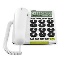 PhoneEasy 312cs Wit - Seniorentelefoon Met Grote Toetsen